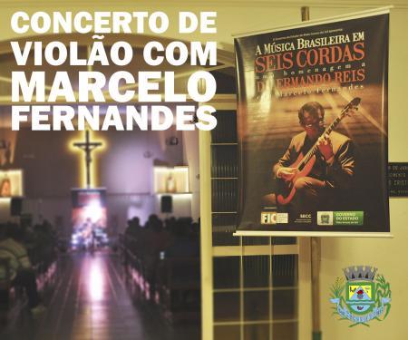 Concerto de Violão com Marcelo Fernandes