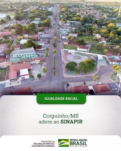 O município de Corguinho (MS) é o mais recente a aderir ao Sinapir