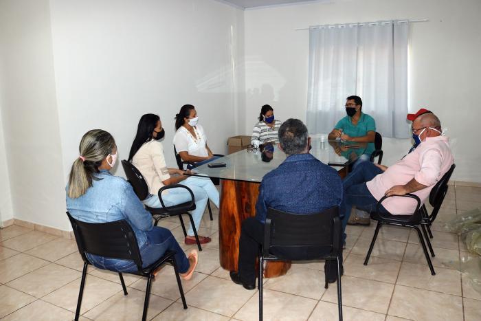 Reunião do Comitê de combate ao Coronavírus