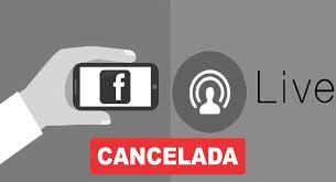 Live cancelada