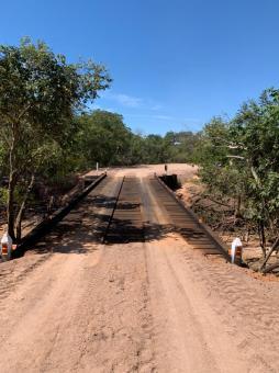 Prefeitura entrega ponte da Região do Formiga