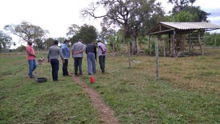 Concluído curso de instalação de cerca elétrica no Taboco