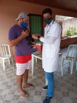 Vacinação antirábica na zona rural