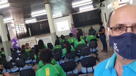 Assistência realiza palestra na José Alves Quito