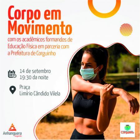 Parceria Prefeitura e Anhanguera: Corpo em movimento
