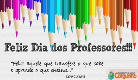 Parabéns aos Professores e Professoras