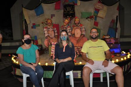 Ubu artes cênicas encanta público corguinhense