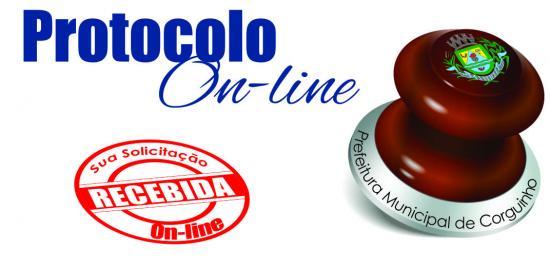 Logotipo do serviço: Protocolo On-line